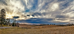 IMG_7641-44cPtzl1TBbLGER (ultravivid imaging) Tags: ultravividimaging ultra vivid imaging ultravivid colorful canon canon5dmk2 clouds sunsetclouds scenic rural vista evening winter trees fields farm