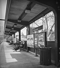 Art is Life (goofcitygoof) Tags: picmonkey manayunk septa trainstations philadelphia