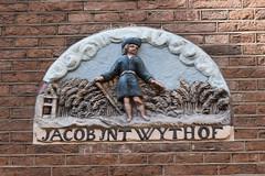 Gevelsteen Jacob in t Wythof (zaqina) Tags: st luciënsteeg egelantiersgracht amsterdam jaco wythoff gevelsteen