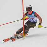 April 15th, 2017 - Nathan Romanin of BC takes fifth place in the U16 McKenzie Investments Whistler Cup Mens Slalom - Photo By Scott Brammer - coastphoto.com
