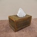 Cedar Siding Tissue Box Cover