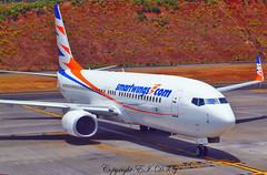 Boeing 737-86N OK-TVV Smart Wings (EI-DTG) Tags: planespotting aircraftspotting fnc funchalairport madeira funchal 13jul2015 boeing 737 boeing737 babyboeing busstopjet oktvv smartwings