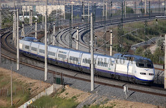 Especial 25 aniversario (Mariano Alvaro) Tags: ave 100 11 rama sevilla madrid renfe trenes 25