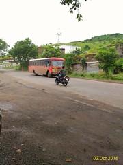 Ichalkaranji - Pune - Nashik Via- Karad,Satara,Shivajinagar,Bhosari,Sangamner,Sinnar,NashikRoad. (kunaltendulkar96) Tags: msrtc newparivartan ichalkaranji