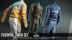 [VALE KOER] ESSENTIAL TRACK SET (VALE KOER) Tags: vk vale koer valekoer sl second life secondlife mesh tmd mens department track suit 3d modeling blender slink tmp gianni signature