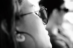 Pring-pring (bambamm68) Tags: friend sunnies zamboanga portrait blackandwhite nikon nikond7000 beauty