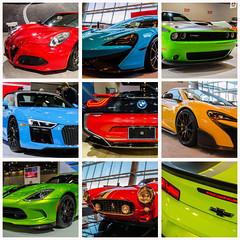 Vancouver Auto Show 2017 (Sworldguy) Tags: vancouver autoshow car luxury vehicles exotic britishcolumbia canada vancouverinternationalautoshow event 2017 nikon d7000 dslr city collage colorful