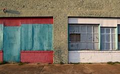 Windows (Photographs By Wade) Tags: hominy oklahoma windows colorful brick bricks bricked osagecounty