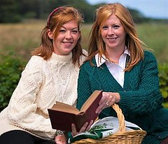 Redhead Sisters in stylish aran knitwear (Mytwist) Tags: rita condron handknit rollneck rollkragen retro turtleneck timeless traditional passion pulli authentic cabled craft cozy classic chunky cowlneck wool warm woolfetish winter fashion fetish fuzzy female fishermans girl grobstrick genser bulky handgestrickt handknitted heavy heritage sweater style sweatergirl sexy knitted knitwear redhead