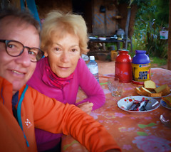 Breakfast at the house in Lamine after our overnight stay. Couldn't eat much of it I'm afraid. (Neville Wootton Photography) Tags: burma glenniswootton holidays homestays kalaw lamine lightroom myanmar nevillewootton onestoptraveltours topazlabs