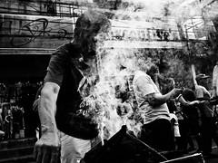 Holy Smoke (Meljoe San Diego) Tags: meljoesandiego ricoh ricohgr streetphotography street streetlife people candid smoke festival