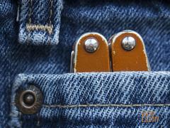 Peek-a-Boo Multitool (Warren06) Tags: jeans multitool leatherman juice metal denim macromondays