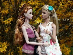 My girls love Spring 02 (jasminalexandra) Tags: integrity fashion royalty fr nuface trouble eden mad love rayna