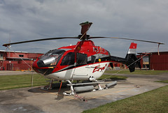 N517JF EC-135P2+ Era Helicopters (corkspotter / Paul Daly) Tags: n517jfeurocopterdeutschlandec135p2p2iec350777h2ta67c3eeragroupinc lakecharlesla200920090415dhcbj klch lch lake charles n517jf ec135p2 era helicopters