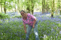 Maria in the Blue Bells Woods (John Carson Essex UK) Tags: thegalaxy thegalaxystars rainbowofnature supersix