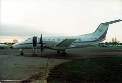 G-EXEL EMB120, Air Exel (Liam Salt) Tags: kidlington oxfordairport aircraft egtk emb120 gexel brasilia embraer luxair oxford air exel commuter cse aviation