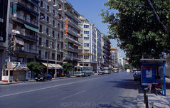 948-50 (rolfstumpf) Tags: greece hellas thessaloniki macedonia streetphotography summer hotel streets urban city transport