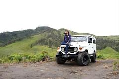 Look at the sky. Mt. Bromo, malang. (silmihidayat) Tags: wonderfulindonesia bromo malang indonesia travel photograhpy jeep sky green color offroad