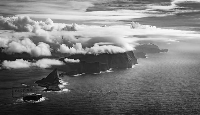 Landing in the Faroe Islands