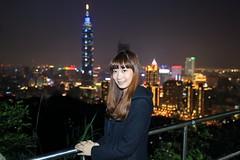 IMG_3608A (Ethene Lin) Tags: 象山 台北101 信義區 夜拍 人像 燈海 台北市