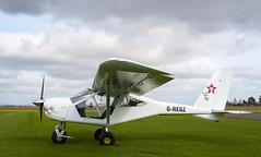 G-REGZ Foxbat, Scone (wwshack) Tags: aeroprakt22ls egpt foxbat foxbatsupersport perthairport perthshire scone sconeairport scotland scottishaeroclub gregz