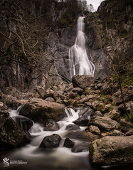 The Falls. (Simon Rich Photography) Tags: aber falls north wales waterfall water nature natural rocks long exposure dramatic countryside simon rich simonrichphotography mrmonts canon