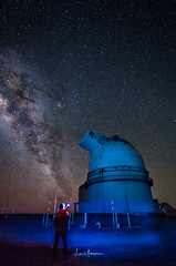 Milky Way Above Mauna Kea Summit 04:2017 01 (JUNEAU BISCUITS) Tags: milkyway observatory astronomy astrophotography nightphotography nightsky maunakeasummit maunakea bigisland hawaii nikond810 nikon nikon1424 stars
