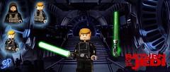 LEGO Star Wars- ROTJ Modular Luke Skywalker (Sir Prime) Tags: lego starwars originaltrilogy returnofthejedi lukeskywalker lightsaber custom moc