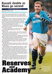Manchester City vs Derby County - 1998 - Page 30 (The Sky Strikers) Tags: manchester city derby county worthington cup road to wembley maine official matchday magazine one pound eighty