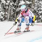 Selina Egloff (Switzerland) U16 Women's Super-G winner PHOTO CREDIT: Coast Mountain Photography www.coastphoto.com