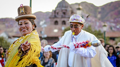 Dance with us (Rodrigo Almendras V.) Tags: cusco perú peru canon t3i celebración celebration nativityvigin virgendelanatividad andeanparties dance dancing dancers comparsas comparsa join ven