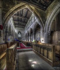 Badby Church Interior 2 (Darwinsgift) Tags: badby church northamptonshire interior nikkor pc pce e mf ed 19mm f4 nikon d810 hdr photomatix photomerge flickr tilt shift