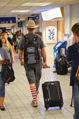 American socks (radargeek) Tags: dfw airport dallas fortworth tx texas cowboyhat traveler american flag