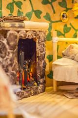 Stump house (kinmegami) Tags: 112 stump handmade handmadedoll miniature dollhouse dollhouseminiature dollhousefurniture diy