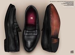 [Deadwool] Penny loafers ([Deadwool] // Masa Plympton) Tags: men shoes second life loafers slip mocassin