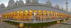 Corridor (minimi007) Tags: abudhabi sheikhzayedgrandmosque unitedarabicemirates