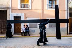 Big Cross (Guille Ibanez) Tags: religion cross cruz catholic catholicism fuji fujiworld easter semanasanta spain españa black drumsandtambors