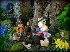 Happy Easter! (MiskatonicNick) Tags: easter diorama toyville playscale