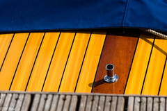 Deck (PhilR1000) Tags: boat wood polished decking