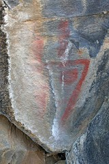 Pictographs / Little Lake Site (Ron Wolf) Tags: anthropology archaeology anthromorph anthropomorph pictograph california