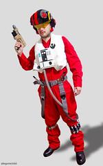 Brick Built Poe Dameron's Costume (Takamichi Irie) Tags: lego star wars force awakens poe dameron resistanve rey kylo ren lightsaber finn han solo rogue one sith jedi last