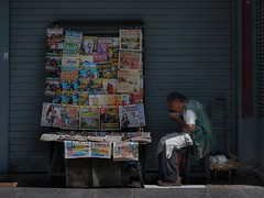 El diariero (karinavera) Tags: travel sonya7r2 street lima kiosks newspaper peru people calle day photography daytime