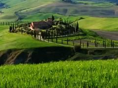 Terre di Siena 5 (Wronny) Tags: siena terre colline senesi toscana toscany italia italy verde green cipressi fattoria chianti maremma panorama senese toscano campagna country toscan hills bello beautiful landscape
