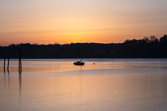 Natural Navesink (aka Buddy) Tags: 2017 spring sunset navesink river sailboat rumson nj og le