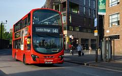 Arriva London HV59 (cybertect) Tags: 141 arriva hv59 hoxton lj62byt london londonboroughofhackney londonn1 londonbus n1 shoreditch sonya7 volvob5lh wrighteclipsegemini2 wrighteclipsegeminiii bus doubledecker route141