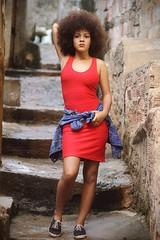 Natiely Barbosa, (rodolphofotografiassouza) Tags: natiely barbosa people girl womam garota pessoa canon t5 50mm lens canonista street outdoor livre f flickr fashion beautiful ensaio salvadorba style estilo afrobrasileiroa adolescente exotic cute vestido visual red jeans brasileiroa brazil model dress brasil brasileira afrostyle afro gente glammour olhar urban teenager rodolphosantosphotography rodolpho rodolphosantos rosto expressive human hair handsome like