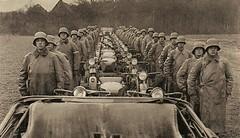 """a Wehrmacht postcard called """"Kradschützenzug abmarschbereit"""" 1936 • <a style=""""font-size:0.8em;"""" href=""""http://www.flickr.com/photos/81723459@N04/13710593215/"""" target=""""_blank"""">View on Flickr</a>"""