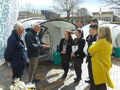 Shelterbox at RIBI Conference Birmingham 2014 (woodytyke) Tags: icc conference centre shelterbox ribi birmingham 2014 rotary international display tent green box stephen woodcock district 1270 britain ireland square city charity disaster relief fundraising coordinator barnsley rockley club south yorkshire ri aid big school scout event woodytyke photo flickr photographer photograph picture image digital camera phone colour color country national foto british english best 1 2 3 4 5 6 7 8 9 10