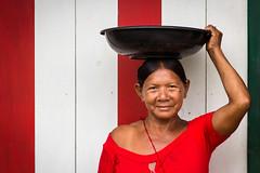 bella Sra. de Puerto Nario (Juan Jo. Fdez.) Tags: travel colombia culture leticia cultura amazonas