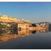 Jaipur IND - Amber Fort and Maota Lake
